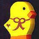 Duck -  Easter Wooden Miniature
