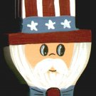 Uncle Sam - 4th of July / Patriotic / Liberty Wooden Miniature