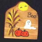 Boo - Halloween Wooden Miniature