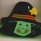Witch - Halloween Wooden Miniature