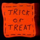 Trick or Treat Bag - Halloween Wooden Miniature