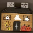 Haunted House - Halloween Wooden Miniature