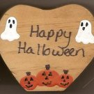 Happy Halloween - Wooden Miniature