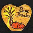 Give Thanks - Thanksgiving Wooden Miniature