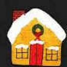 Christmas House - Wooden Miniature