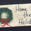 Home for the Holidays - Christmas Wooden Miniature
