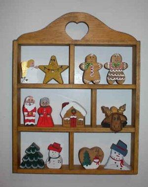 Heart Box - Wooden Shelf