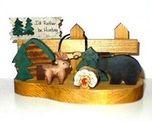 Fence - Wooden Shelf