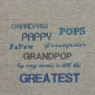 Grandpaw, Pappy, Pops, Papaw, Grandfather, Grandpop  - XX-Large Embroidered Sweatshirt