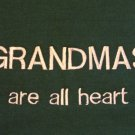 Grandmas are All Heart - Medium Embroidered Sweatshirt