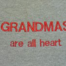 Grandmas are All Heart - Small Embroidered Sweatshirt