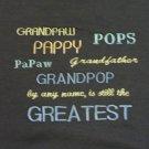 Grandpaw, Pappy, Pops, Papaw, Grandfather, Grandpop  - Small Embroidered Sweatshirt