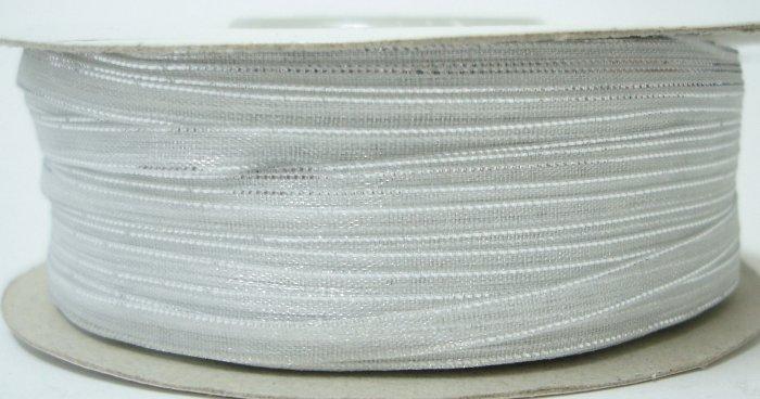 3mm White Organza Ribbon