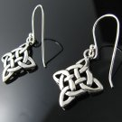 .925 Sterling Silver Irish Celtic Knot Earrings - NEW!