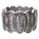 Gerochristo 6350 - Sterling Silver Medieval-Byzantine Large Bracelet