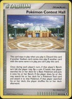 Rising Rivals 93/111- Pokemon Contest Hall