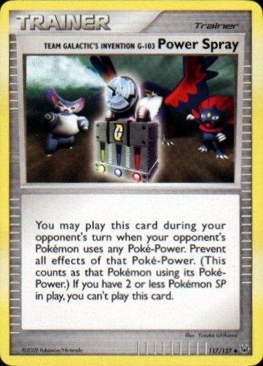 Platinum 117/127- Power Spray