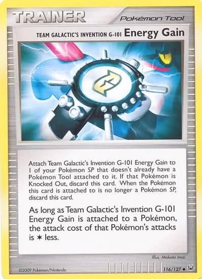 Platinum 116/127- Energy Gain