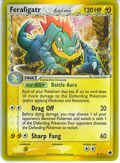 Dragon Frontiers 2/101- Feraligatr