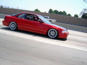 1990-1993 Acura Integra 3-door FRP fibeglass Mugen style side skirts