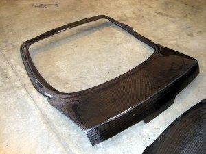 1994-2001 Acura Integra 3-door OEM style carbon fiber hatch
