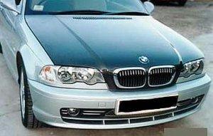 1999-2005 BMW 3-Series 4-door OEM style carbon fiber hood