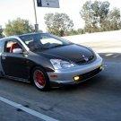 2003-2006 Honda Civic SI hatchback OEM style carbon fiber hood