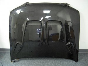 1998-2001 Nissan Altima K-S style carbon fiber hood
