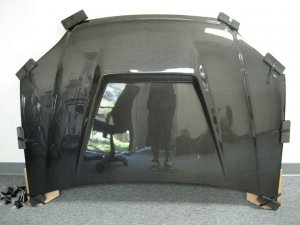 2001-2003 Honda Civic 2/4-door VAD style carbon fiber hood
