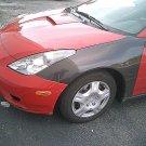 2000-2005 Toyota Celica OEM style carbon fiber front fender