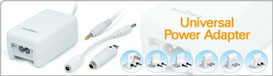 Creative mp3 universal power adaptor