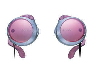 Sony retractable portable headphones earphones headset