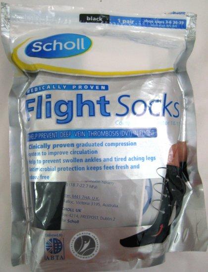 Scholl Flight socks for deep vein, swollen ankles,aching legs
