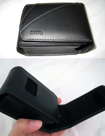Canon IXUS camera leather case