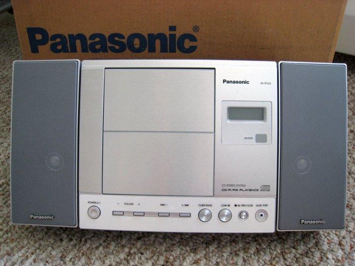Panasonic radio cd player hi-fi set home mini stereo refurb