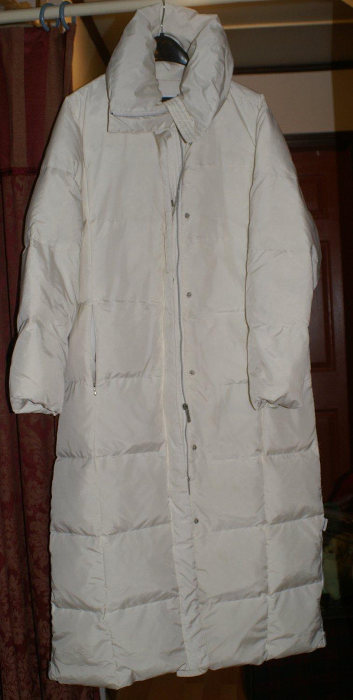 Kelvin Klein Down Full Length Coat Size L