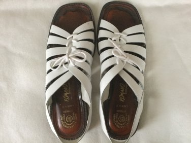 Brand New Genuine Leather Women's Sandals Size 8 1/2