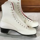 Imperial Hardened & Tempered white ice skates size 8