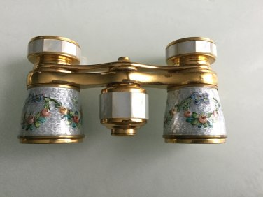 Vintage Lemaire Theatre Binocular Made in France