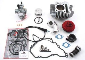 KLX110 TB 143cc Bore Kit and Mikuni VM26mm Carb Performance Kit
