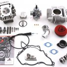 KLX110 TB 143cc Bore Kit, Race Head V2, and VM26mm Carb Kit