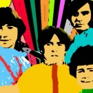 The Monkees TV Show canvas shadow color pop art print limited signed coa 1-25