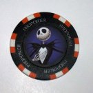 The Nightmare Before Christmas Jack Skelington Las Vegas Casino Poker Chip