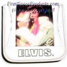 NEW Elvis Presley White CD DVD case holder Wallet auto