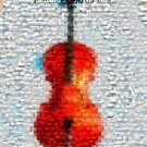 Amazing Cello Heavenly MUSIC montage mosaic art print limited signed coa 1-25
