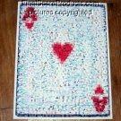 Amazing POKER Art Decor Ace of Hearts WSOP Montage limited signed coa 1-25