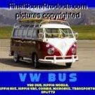 Framed VW Bus Vanagon classic Motivational Type Poster