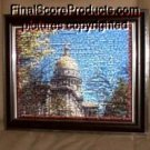 Amazing West Virginia Capitol Montage limited signed coa 1-25