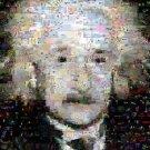 Amazing Albert Einstein Montage pop art print limited signed coa 1-25