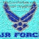 Amazing Air Force military jets Montage limited signed coa 1-25